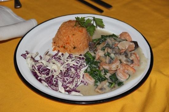 Jorge's Hideaway Shrimp Shack: Baja Shrimp it was so good!