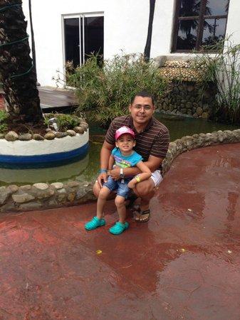 SUNSOL Isla Caribe: Con la niña....