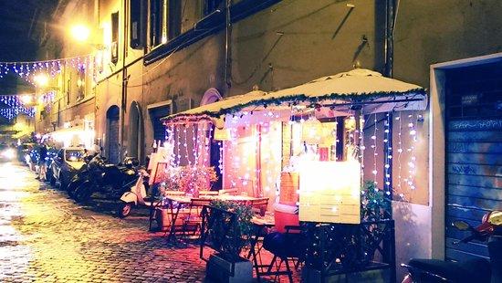 Da Vittorio a Trastevere : Außen