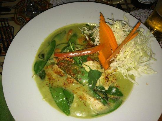 Jasmine Thai Restaurant: Green curry