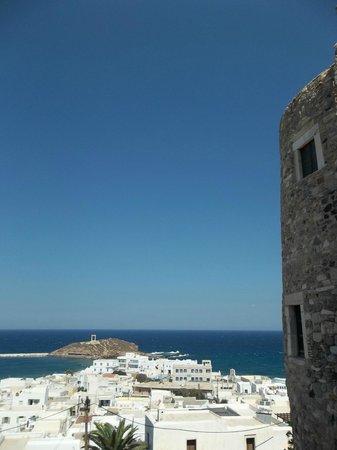 Naxos Imperial Resort & Spa : castello in naxos town