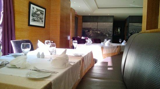 Interiors of La cuisine