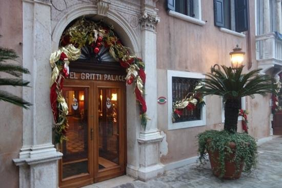 The Gritti Palace, A Luxury Collection Hotel : entrance