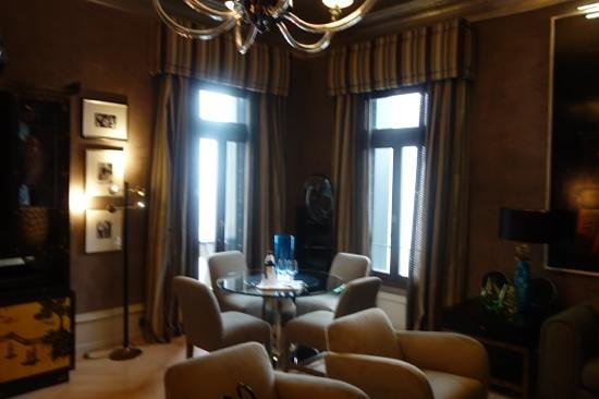 The Gritti Palace, A Luxury Collection Hotel : lounge of room 310