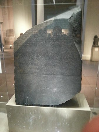 British Museum: la stele di rosetta