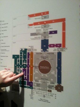 British Museum: la mappa del museo
