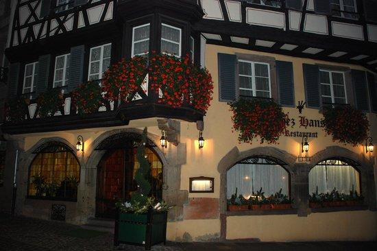 restaurant Chez Hansi - déc. 2013