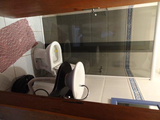 Pousada Konquista: salle bains chambre 19