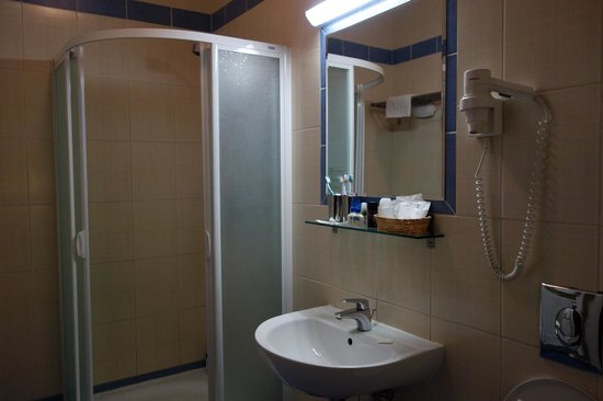 Hotel Central Basilica: Bathroom