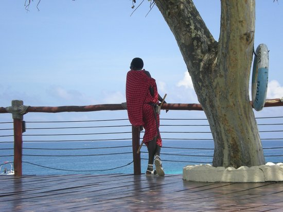 Royal Zanzibar Beach Resort: masai