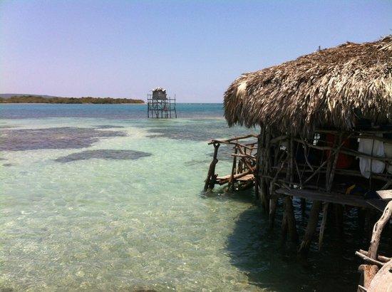 Floyd's Pelican Bar : Pelican Bar, beach