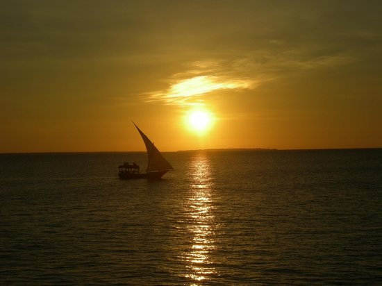 Royal Zanzibar Beach Resort: tramonto