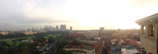 The Bayleaf Intramuros : View from the rooftop deck