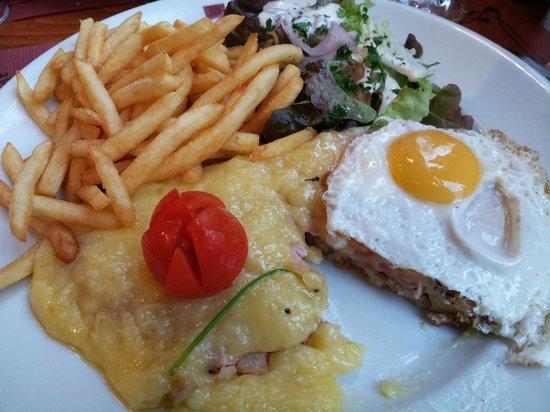 Brasserie La Gérômoise : Le welsh à la géromoise