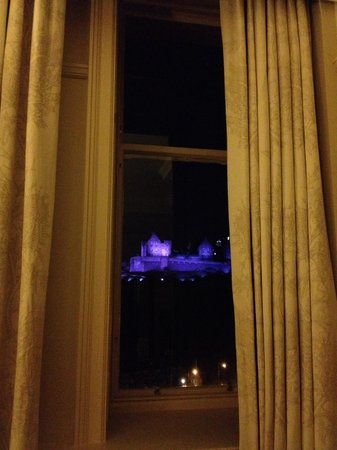 Waldorf Astoria Edinburgh - The Caledonian : Room 426 what a view