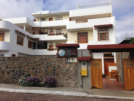 Villa Laguna : Entrance