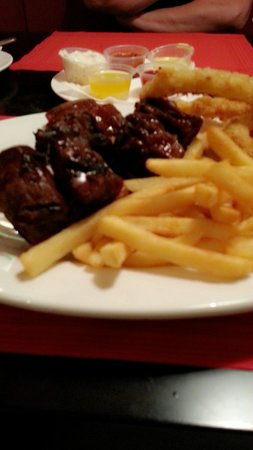 Jimmy's Killer Prawns: Mouth-watering barbeque ribs :-