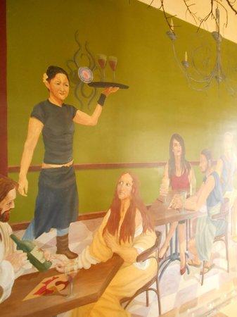 Terra Sana: Interior mural
