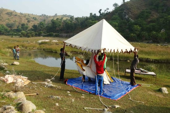 Krishna Ranch: Breaking camp