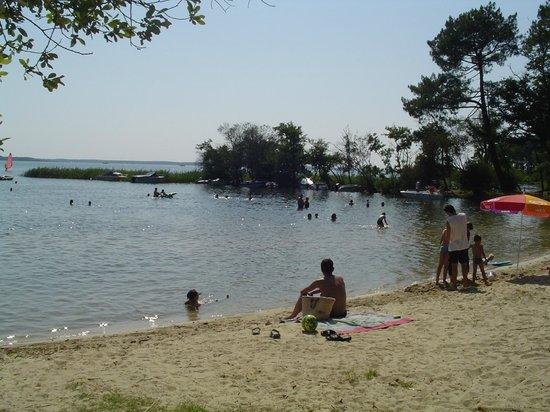 Camping Calède : Repos, décontraction sur la plage