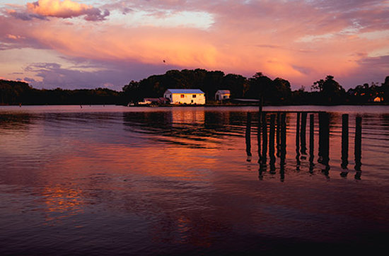 Virginia: Sunset on the Rappahannock River