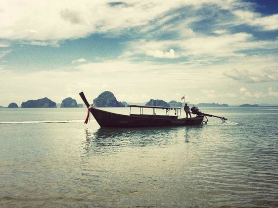 The Tubkaak Krabi Boutique Resort : View from private beach