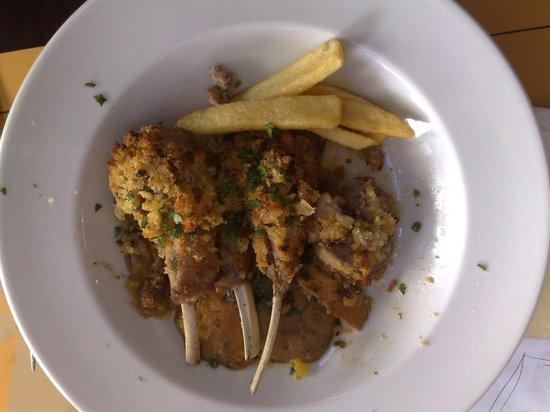 Due Mari Restaurant: Sella di Agnello