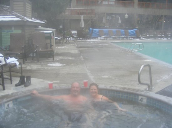 Resort at The Mountain, BW Premier Collection: A bit steamy, nice warm Jacuzzi