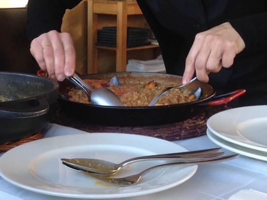 Restaurante Nit i Dia: Manos expertas...