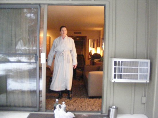 BEST WESTERN Resort at The Mountain, BW Premier Collection : One of the provided and comfortable robes
