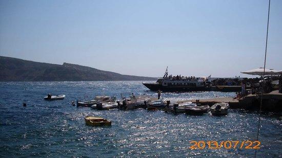 Amoudi Bay : Amoudy Bay, Oia, Greece