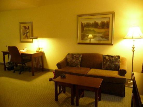 Staybridge Suites Tallahassee I-10 East: Sitting area in Studio suite