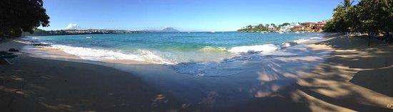 Casa Veintiuno: Panaromic of Sosua Beach...ahhh