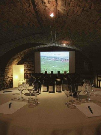 Les Caves de l'Abbaye : Formations en Vins en français et anglais, venez découvrir la Bourgogne et ses vins !