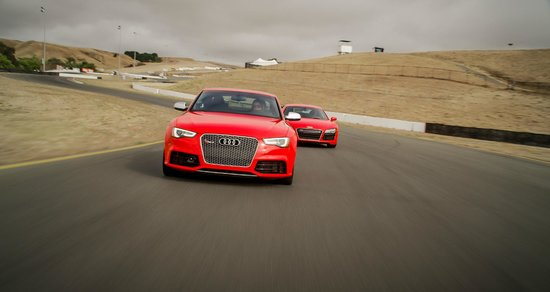 Audi Sportscar Experience: Audi RS5 and R8's available within our 50car Audi Sportscar Fleet