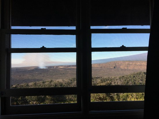 Volcano House: This was our view.