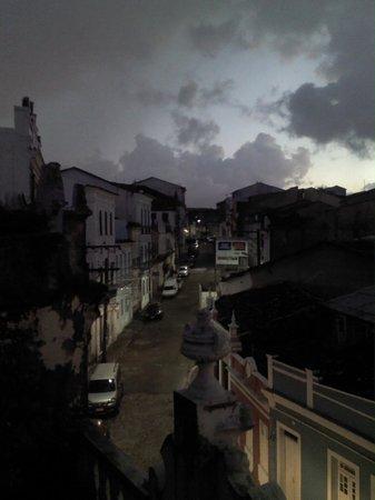 Pousada Casa Vila Bela: notre vue aux aurores de la chambre