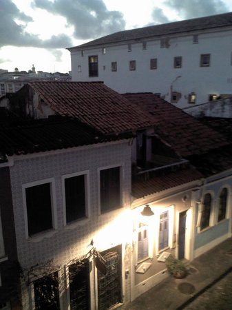 Pousada Casa Vila Bela: terrasse du petit déj