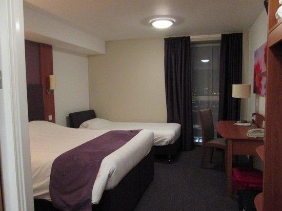 Premier Inn London Stratford Hotel: stanza 8° piano