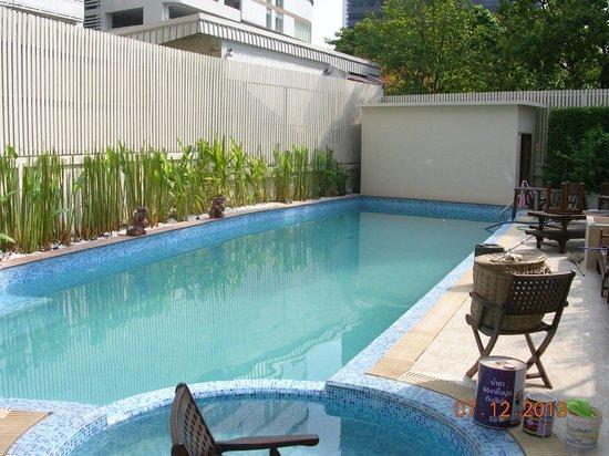 Hotel Mermaid Bangkok : Couleur de l'eau