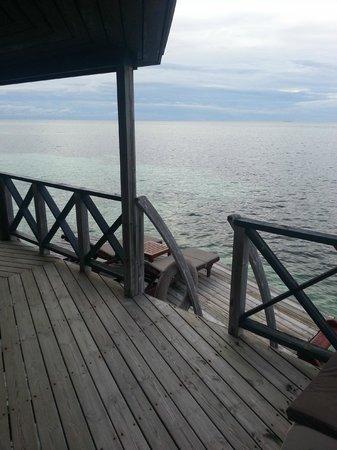 Kuredu Island Resort & Spa : vue de la chambre