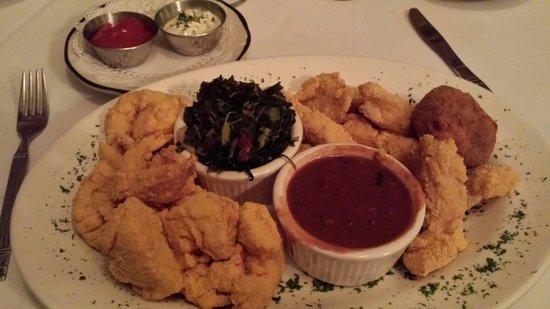 Olivier's Creole Restaurant: Taster Platter