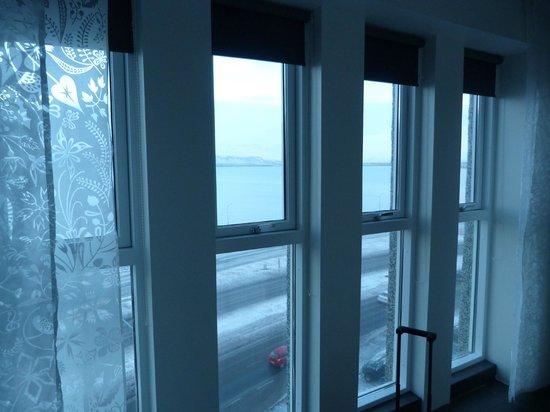 Centerhotel Arnarhvoll: view from the front of room 706