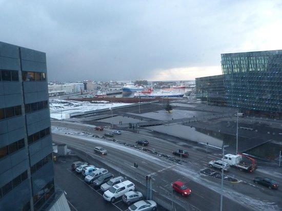 Centerhotel Arnarhvoll: view from left side of room 706