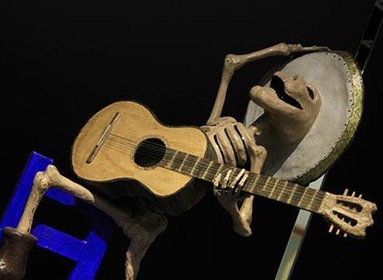 Museo de Arte Popular: dia de mortos!