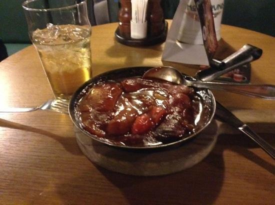 V Kolkovne Restaurant : пивная колбаска и сидр