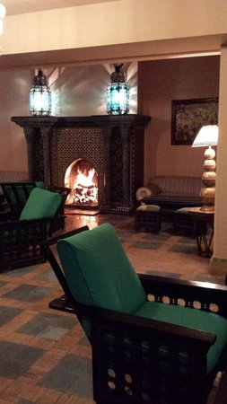 Hotel Marrakech le Tichka : Main Hall