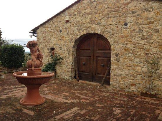 La Canonica di Cortine: One of the many Seperate Villas