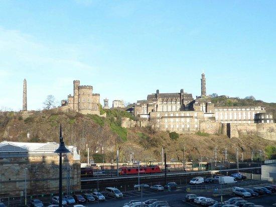 Jurys Inn Edinburgh: View from the front of the Jurys Inn