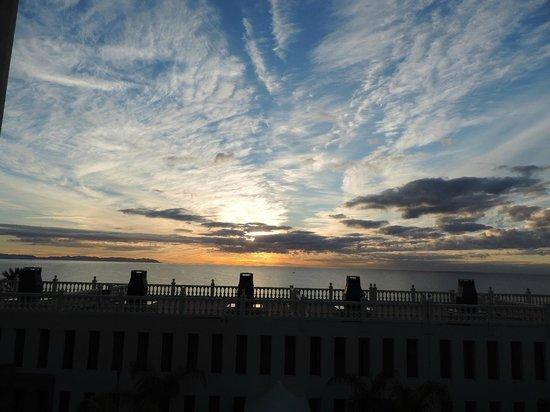 ALEGRIA Portomagno: Vista de la playa desde la terraza.